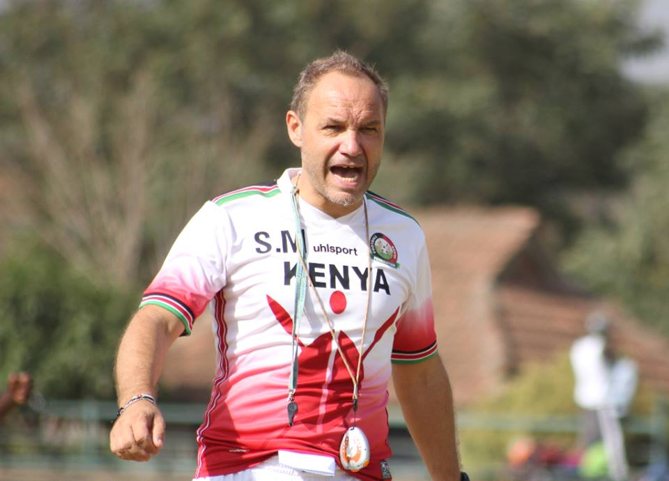 Harambee Stars head coach Sebastien Migne guided the team through the 2019 AFCON qualifiers successfully with the federation's support