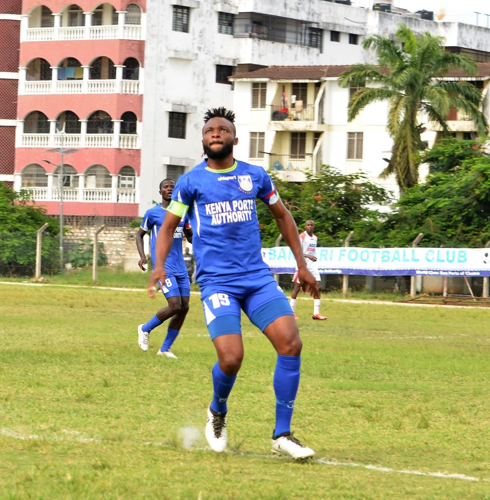 Felly Mulumba has been a cog in the Bandari outfit since joining from Sofapaka